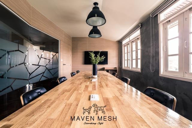 at Maven Mesh Co-Working Cafe