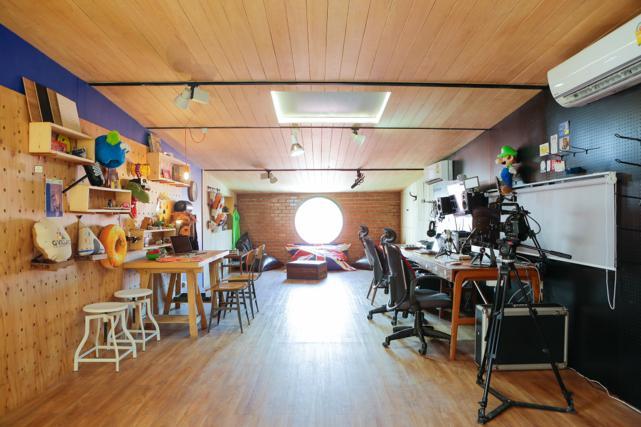 at The Circus Studio