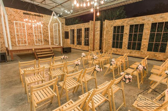 Wedding and Event Space Wood'n Brick Studio