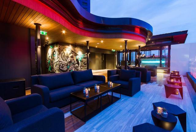 at ZOOK Private Rooftop Bar & Restaurant @ ZAZZ Urban Bangkok