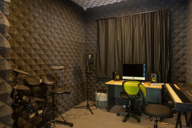 Audio Production Room & Equipment