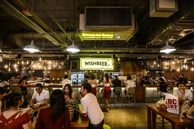 Wishbeer at The Street Ratchada (Shopping Mall - MRT Thailand Cultural Center)