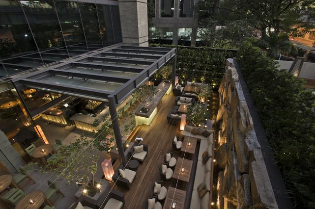 beautiful worldwide recognised restaurant-bar and terrace venue in the heart of Bangkok