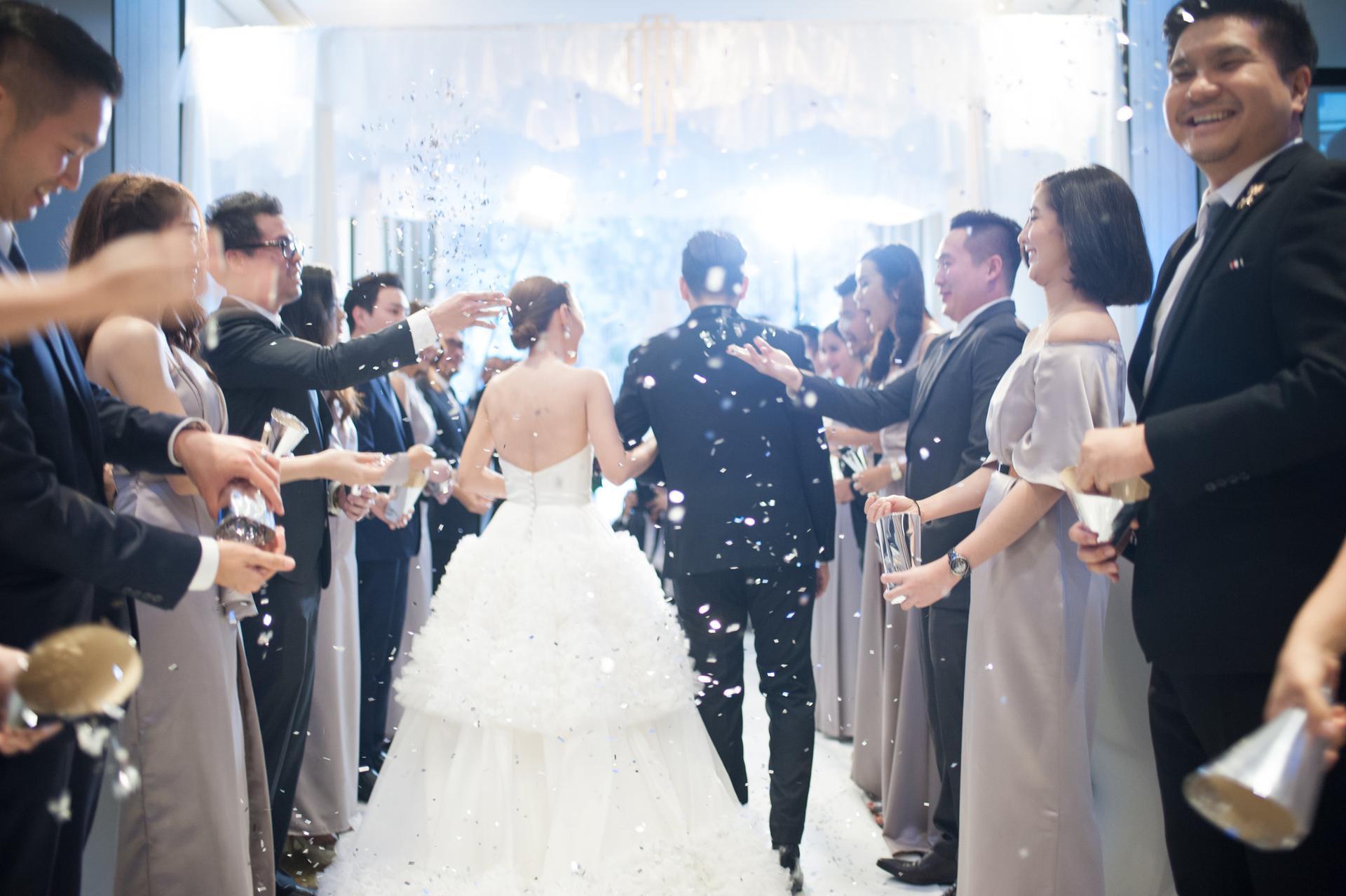 จัดงานแต่ง