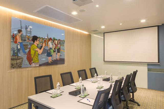 Meeting Room@BTS Chongnonsri at Holiday Inn Express Sathorn