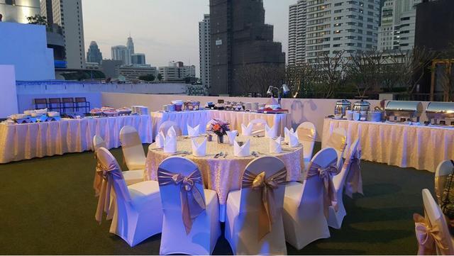 Outdoor Rooftop Event Space