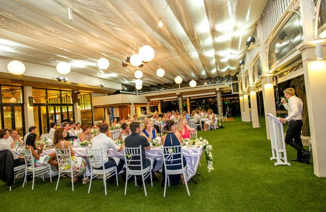 Indoor space for 150 people