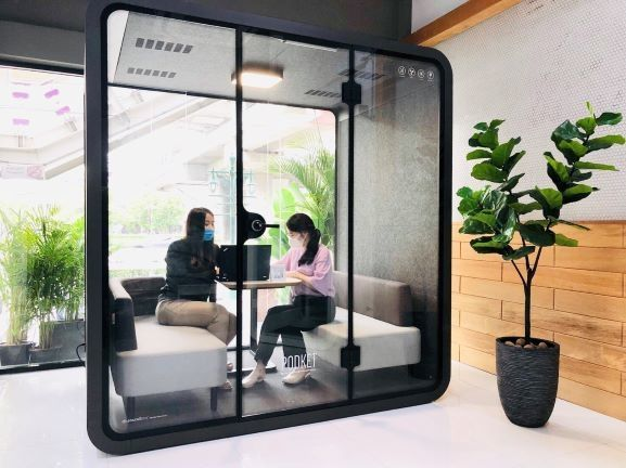 PODKET Meeting POD - Office Booth